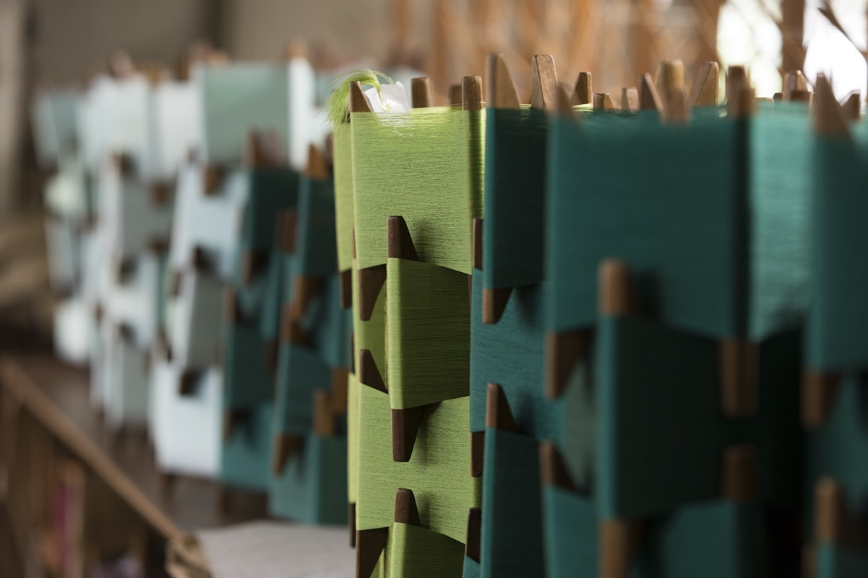 帯の製造工程